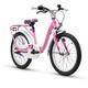 s'cool niXe 18 3-S Barncykel alloy pink